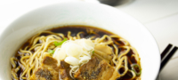 石川製麺のブラックラーメン