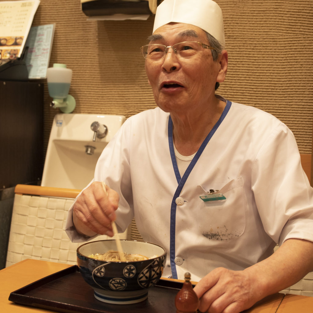 【そばの里】山中料理長様